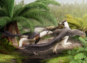 Bird Ancestor, Hesperornithoides Miessler, Discovered in North America