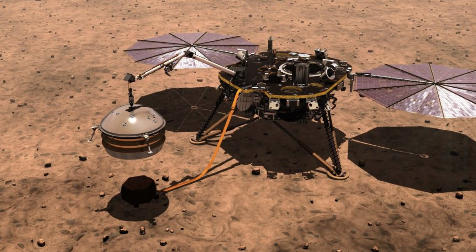 Mars InSight Lander's 'Mole' Got Stuck In Mars' soil – NASA Attempted To Unblock It