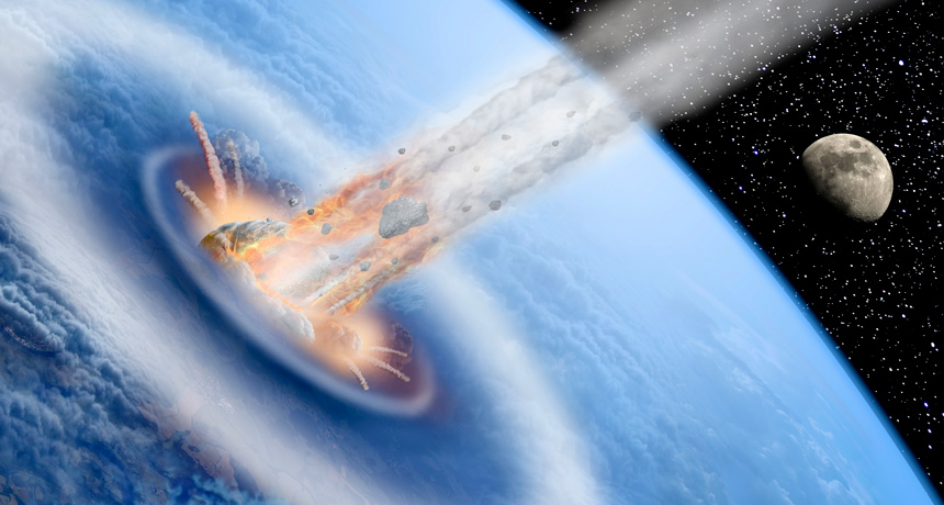 Asteroid Collision Could've Helped Evolution Of Life On Earth By Cooling Down The Global Climate