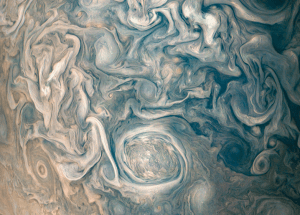 The Incredible Image of the Clouds Above Jupiter Is Here Thanks to JunoCam
