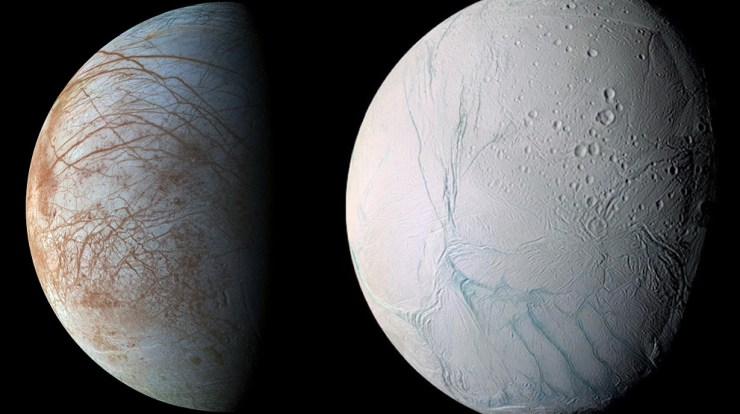 Alien Life Might Exist On Saturn's Moons Europa And Enceladus