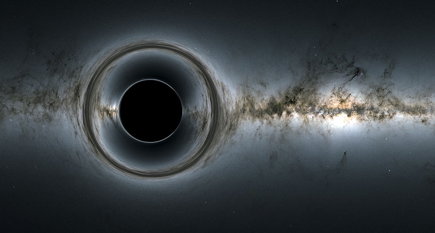 Three Orbiting Black Holes Break a Significant Physics Theory