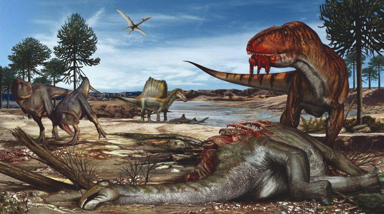 The Kem Kem Jurassic Park in Morocco Is an Oasis of Dinosaur Fossils