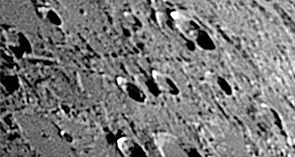 Bare Spots Found on the Moon are Hints for Seismic Activity