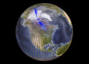 Why the Magnetic North Pole is not where it used to be?