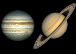"Jupiter Will ""Embrace"" Saturn in Outstanding Celestial Show"