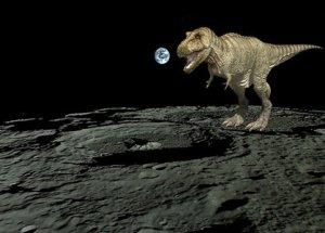 Mind-Blowing: Dinosaur Remains May Be Found On The Moon!