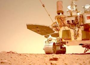 Chinese Rover Records Sounds From Mars