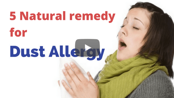 How to prevent dust allergy naturally