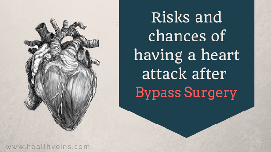 chances of having a heart attack after bypass surgery