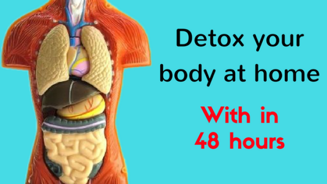 how to do detoxification of body at home