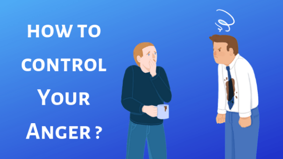 how to control anger Instantly