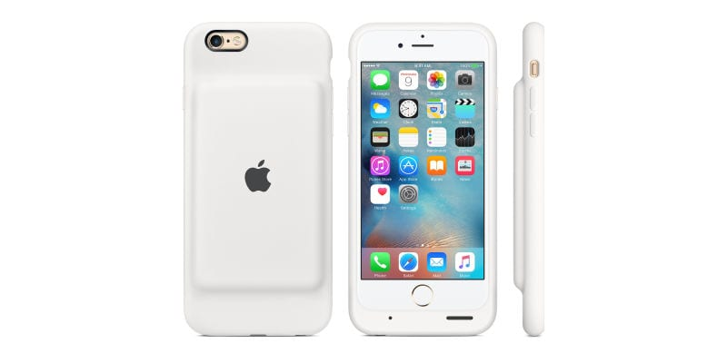 Apple's NewSmart Battery CaseGives Your iPhone 25 Hours of Battery Life
