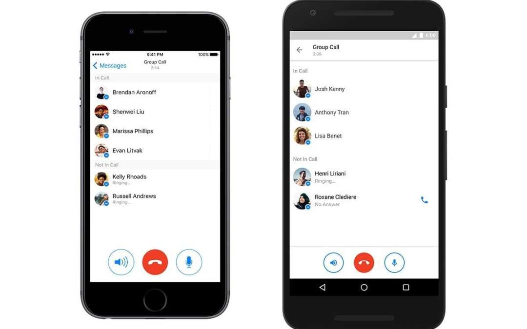 Facebook Messenger's rolls out group calls let you chat with your entire team
