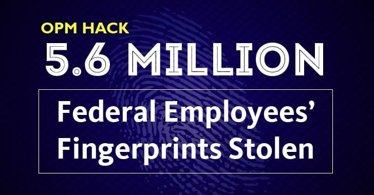 Millions of fingerprints have been stolen and posted online