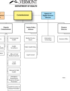 Health org chart also organizational charts vermont department of rh healthvermont