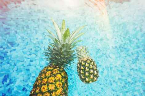 source of vitamin c from pineapple