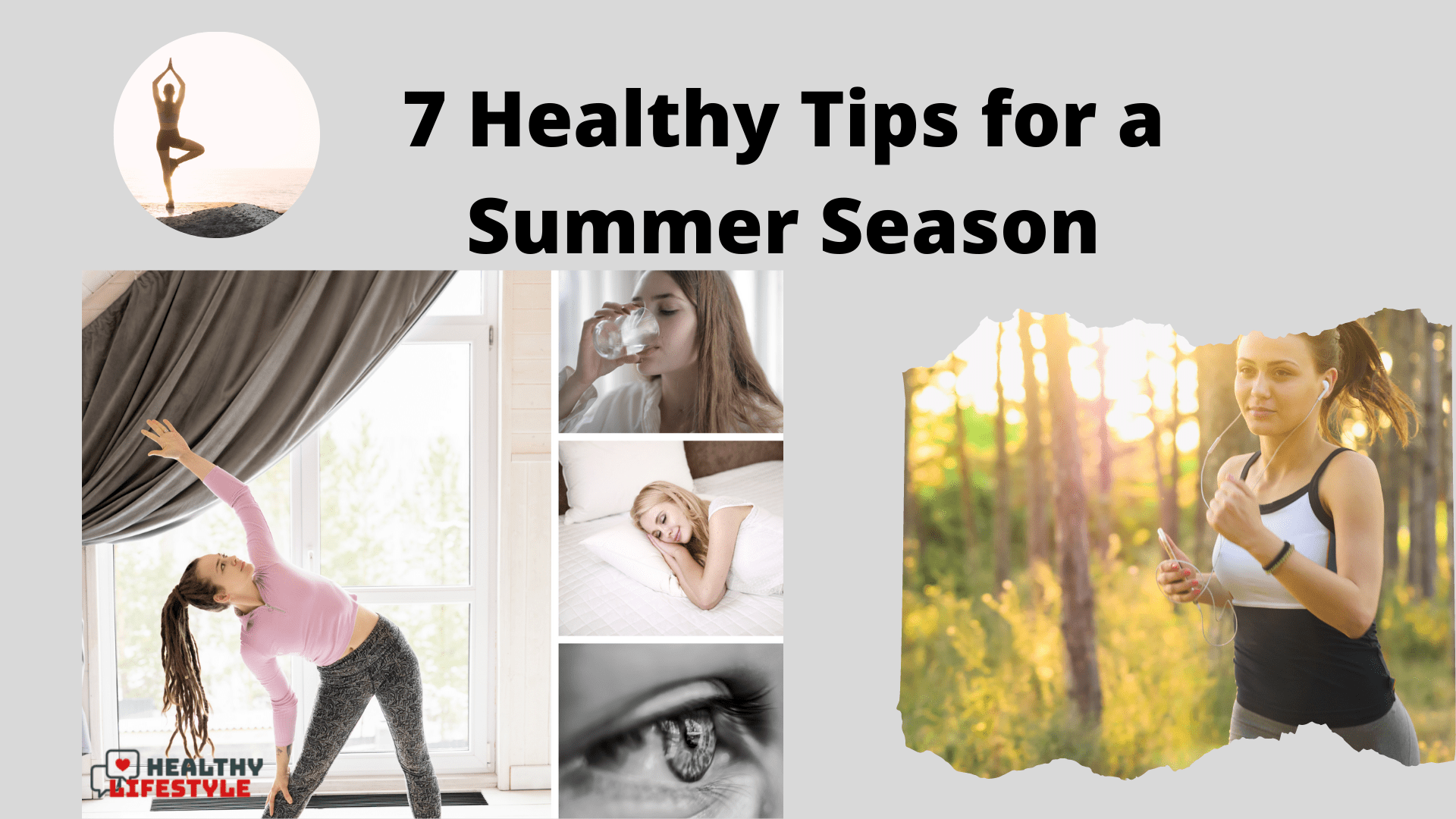 healthy tips for a summer season