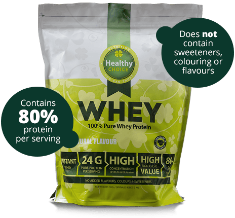 High concentrate protein Healthy Choice