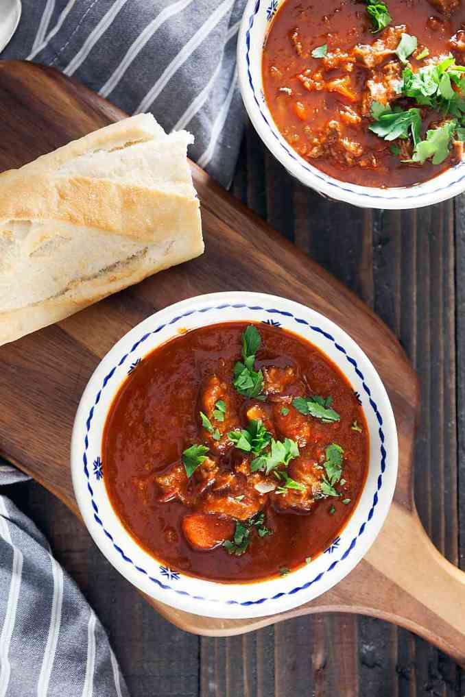 Goulash Soup - Healthy Delicious