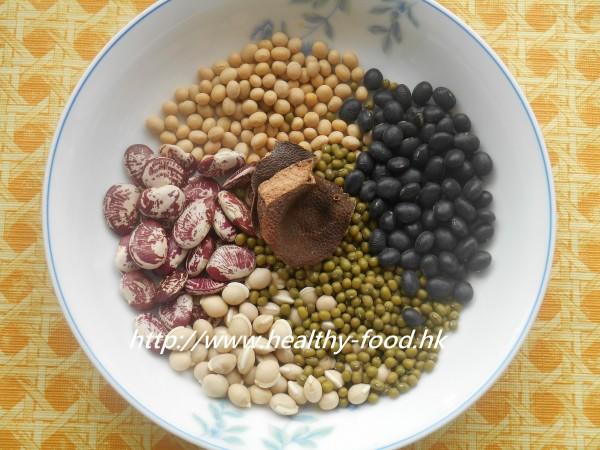 芳姐保健湯餸 » Blog Archive » 調補五臟—五色豆陳皮湯