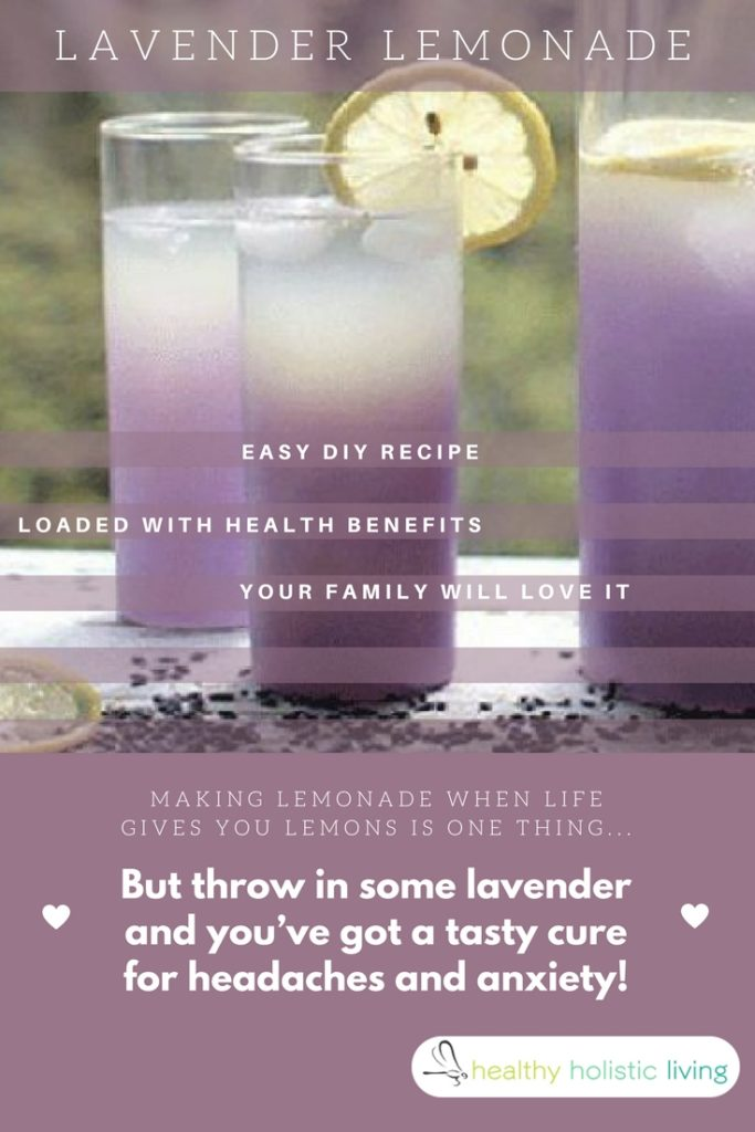 Making lemonade when life gives you lemons is one thing. But throw in some lavender and you've got a tasty cure for headaches and anxiety! Find out how