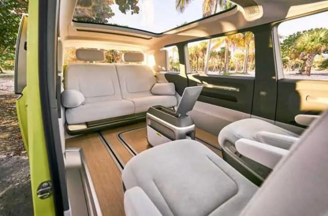 VW backseat