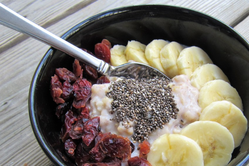 Power up your bowl of oatmeal with protein healthy inspiration oatmeal is a great way to fill up each morning and give yourself the healthy carbs it needs to think clearly and stay energized but adding a little extra malvernweather Image collections