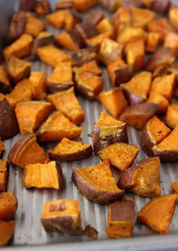 Simple Roasted Sweet Potatoes Healthy Liv