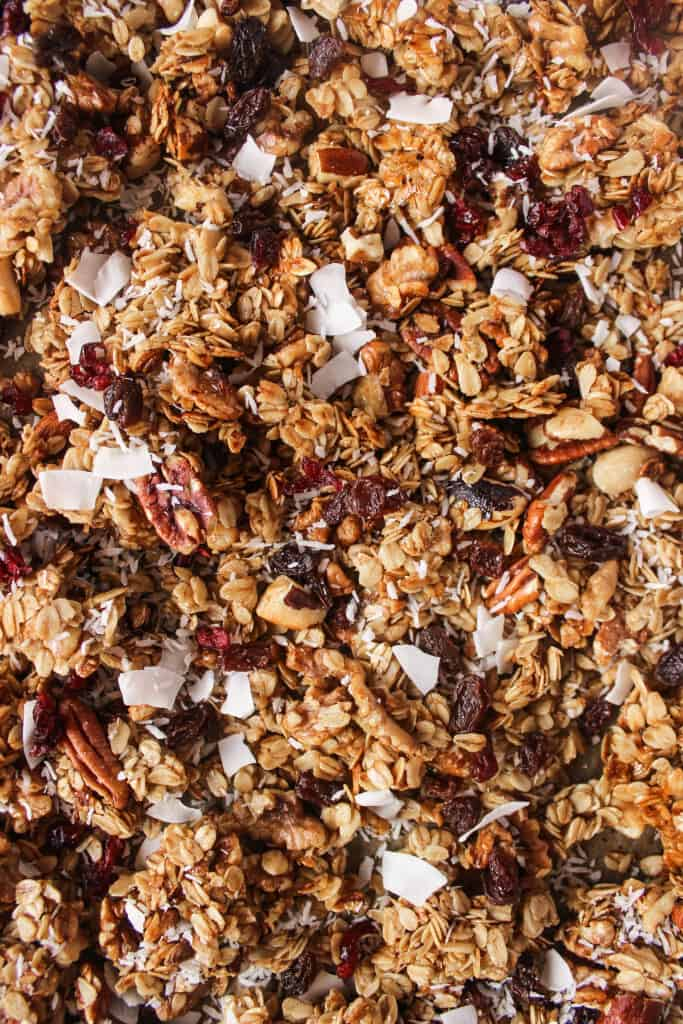 customize your kitchen sink granola with dried fruit chocolate chips coconut flakes and everything but the kitchen sink granola   healthy liv  rh   healthy liv com