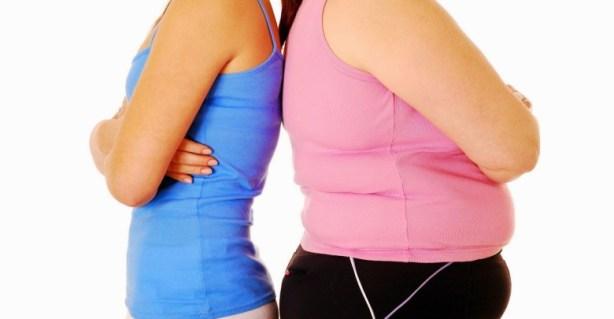 تراكم الدهون في البطن
