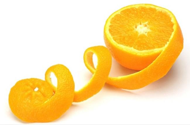 قشور الليمون والبرتقال