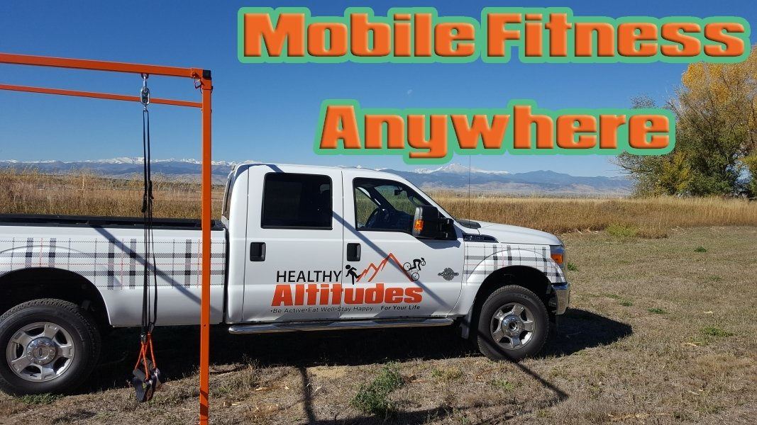 Healthy Altitudes Mobile Fitness Truck