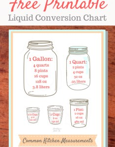 Printable liquid conversion chart also free easy cooking tips and tricks rh healthyandlovinit