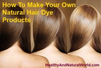 Natural Hair Dye Products