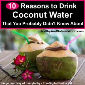 10 Reasons to Drink Coconut Water