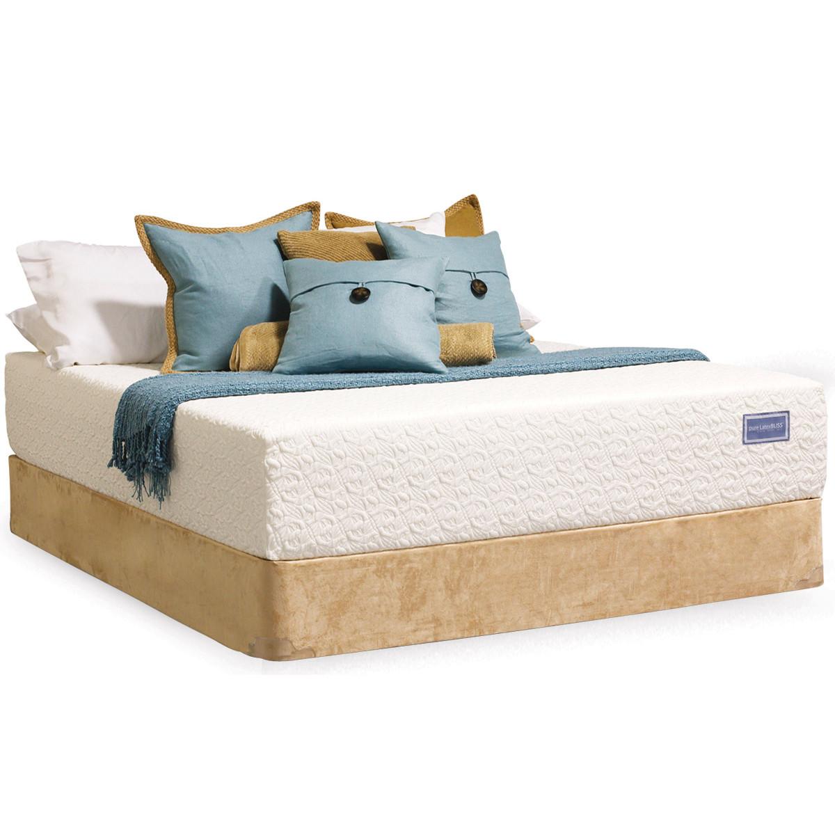 healthy back bliss elegance pure latex mattress