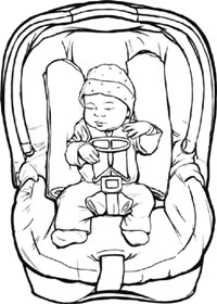 Coloring Pages Booster Seat Coloring Pages
