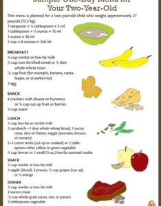 Breakfast also sample menu for  two year old healthychildren rh