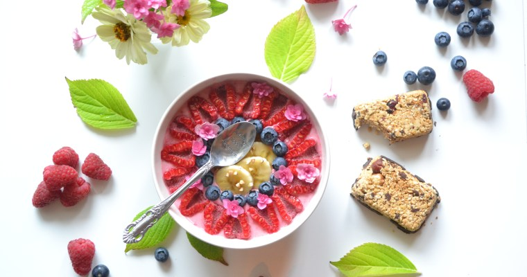 Smoothie – bowl aux framboises