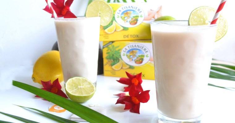 Milk shake glacé La Tisanière»