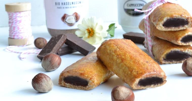 Mini fourrés chocolat noisettes