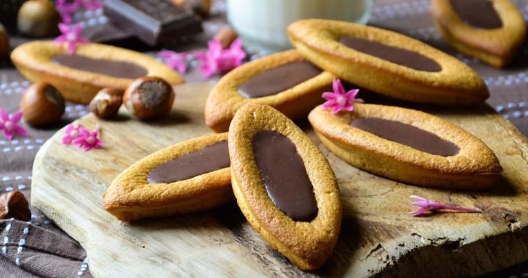 Barquettes façon «Lu» au chocolat noisettes