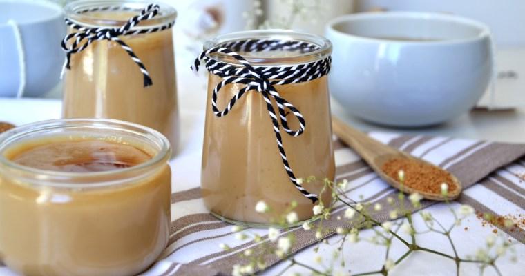 Crèmes façon «mont blanc» à la vanille et caramel