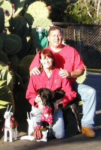 Bob, Deena and Lucy - Healthy Food for Pets Owners
