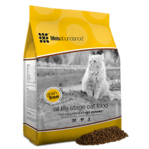 Life's Abundance All Life Stages Grain Free Cat Food