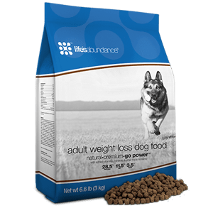 Life's Abundance Adult Weight Loss Dog Food