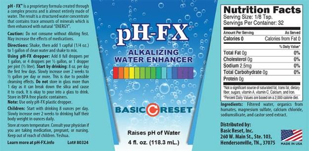 pH-FX Label