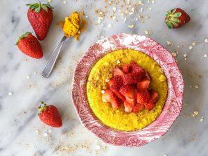 Creamy Turmeric Porridge