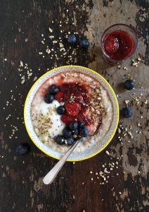 Bircher, the summer porrdige